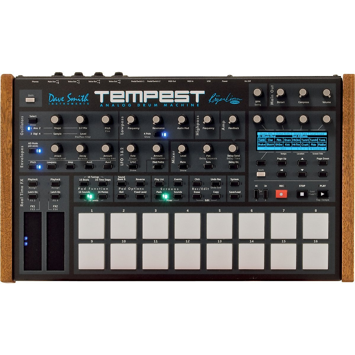 Dave Smith Instruments Tempest Drum Machines