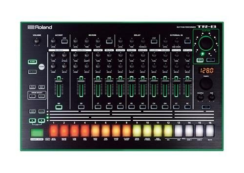 Roland Aira TR-8 Rhythm Performer drum machines