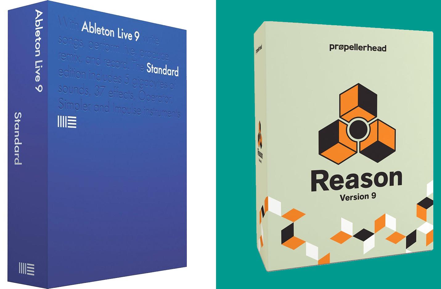 Ableton Live 9 Versus Reason 9