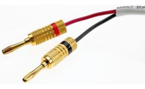 Banana Speaker Cable (single prong)