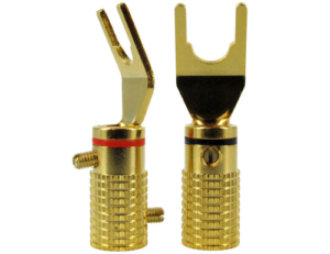 Spade Speaker Cable Ends