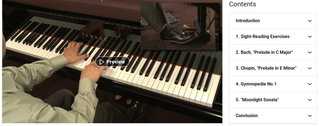 Piano Lessons: 3 Sight Reading and Classical Pieces