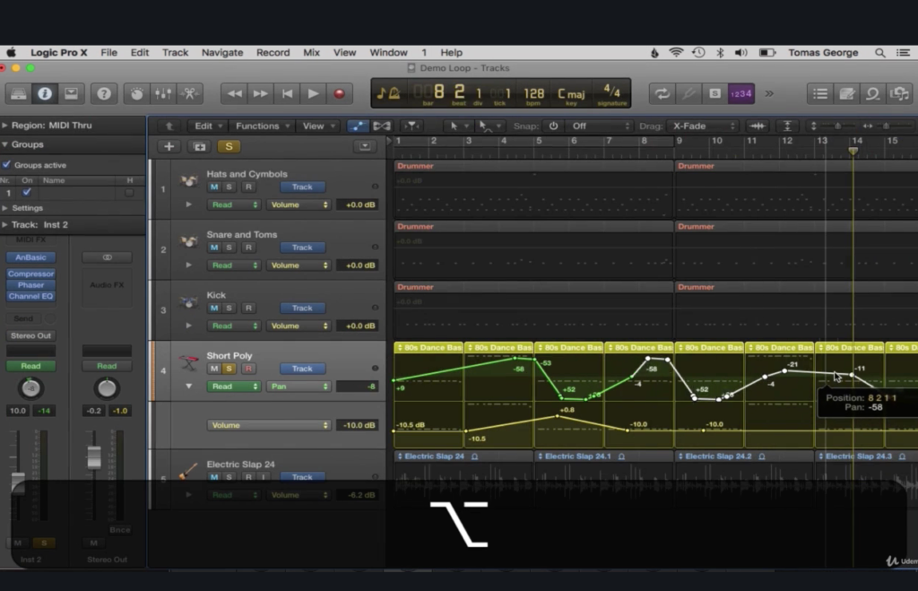 Music Production in Logic Pro X - The Complete Course! by Udemy