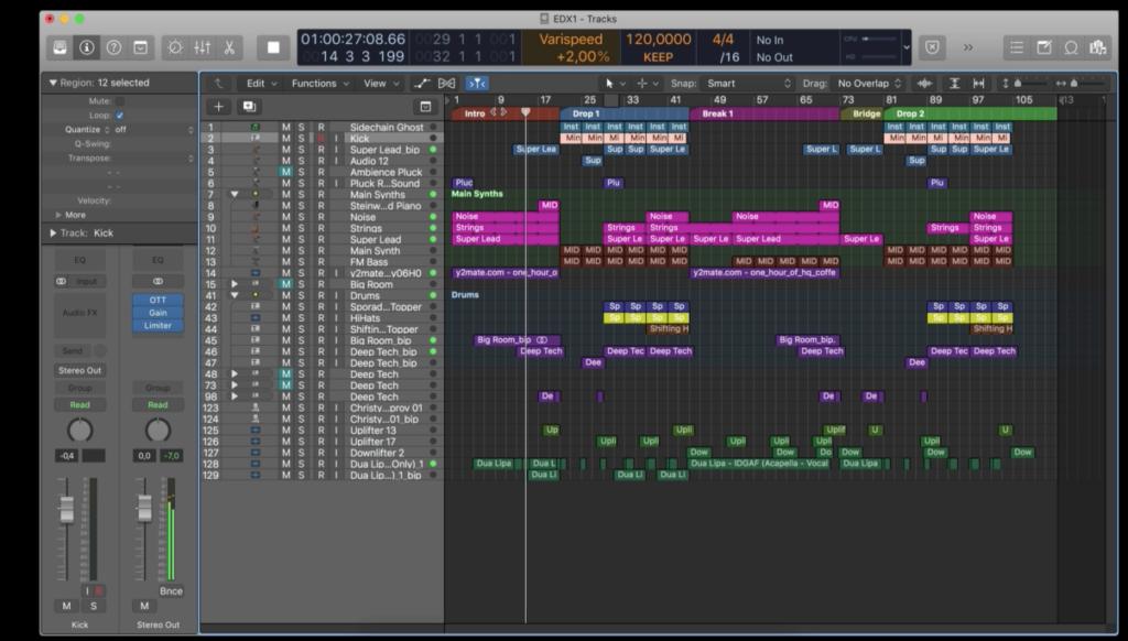 Logic Pro X: EDM Electronic Music Production in Logic Pro X by Udemy