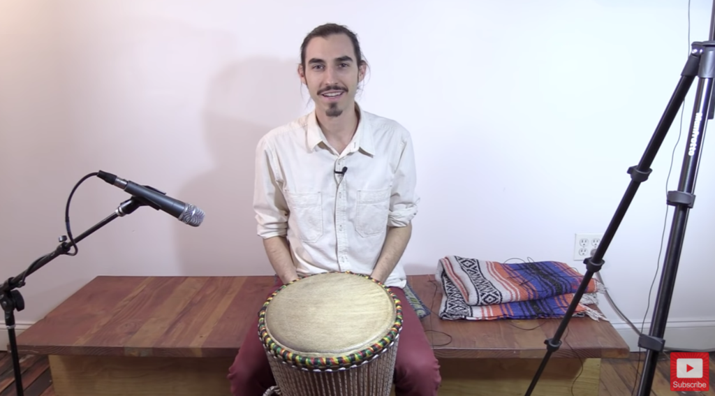 3 Essential Djembe/Hand Drum Rhythms for Beginner/Intermediate Level Players by the Didge Project