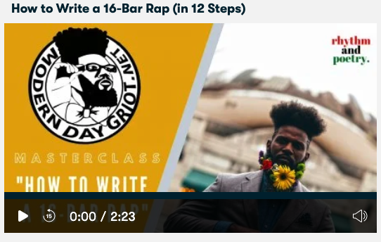 How to Write a 16-Bar Rap (in 12 Steps)