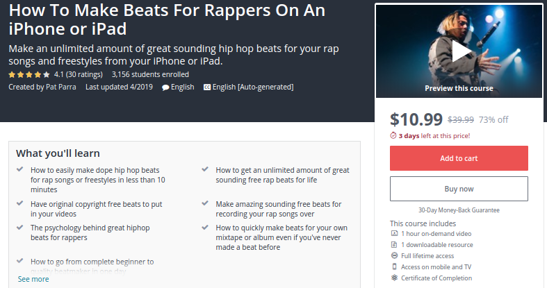 How to Make Beats for Rappers On an iPhone or iPad