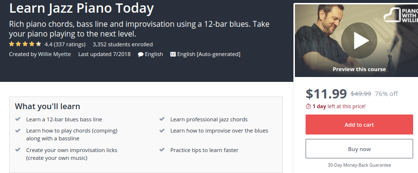 Learn Jazz Piano Today