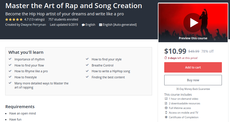 Master the Art of Rap and Song Creation