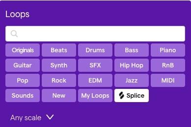 Add Loops & Samples