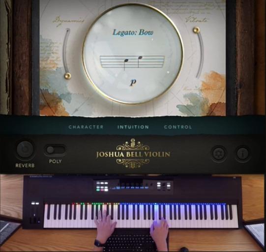 Joshua Bell Violin by Embertone