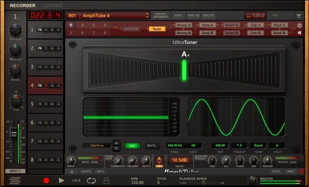 Amplitude Custom Shop Tuner