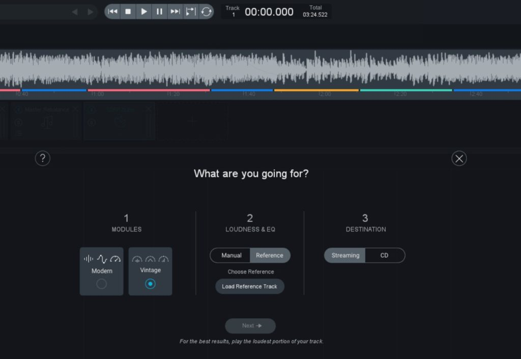 Ozone 9 -  Mastering Assistant