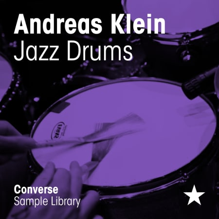 Andreas Klein Jazz Drums from Converse Sample Library