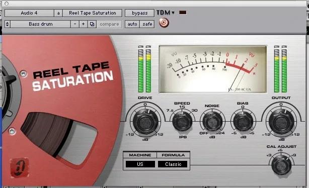 Reel Tape Saturator
