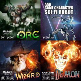 AAA Game Characters