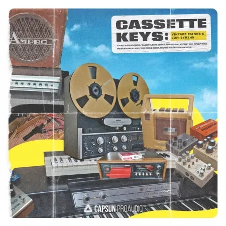 Cassette Keys: Vintage pianos & Lofi Synths
