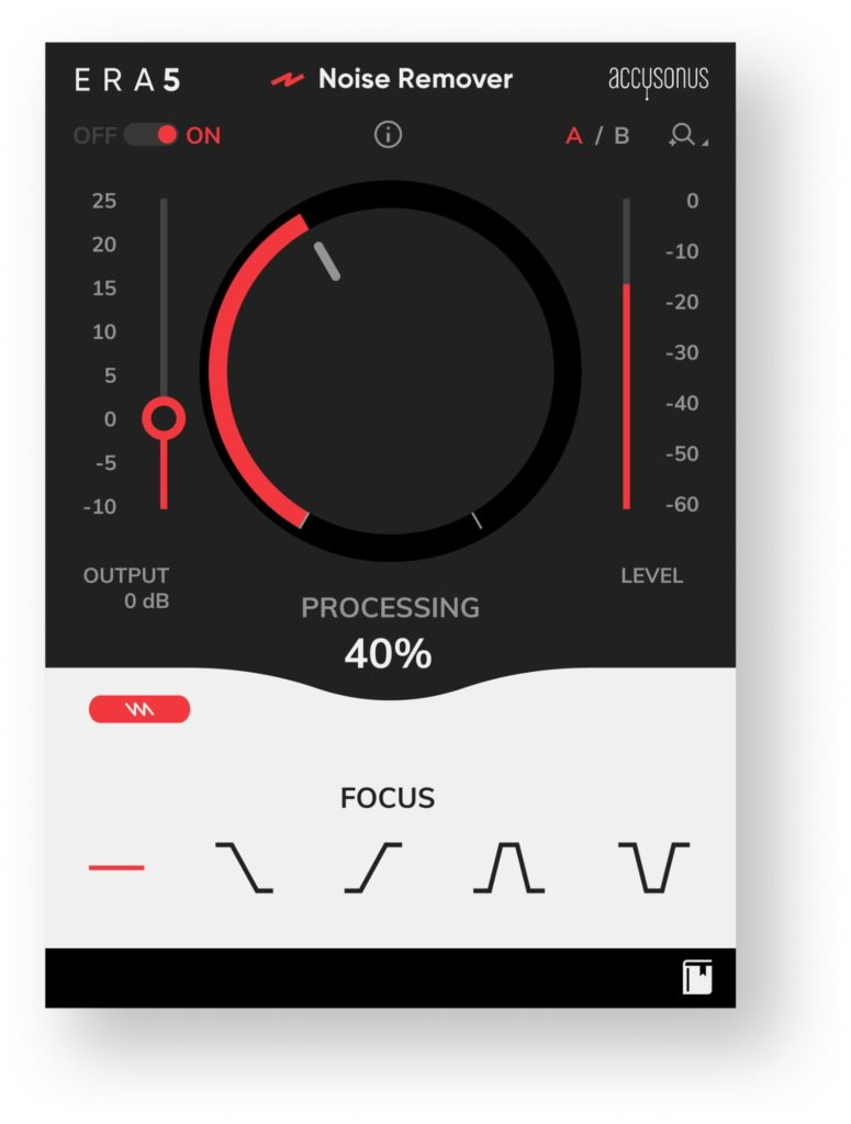 Accusonus Noise Remover Standard