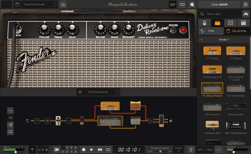 Amplitube Fender Collection