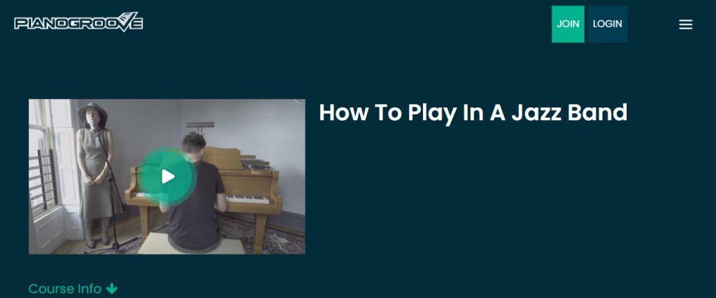 Advanced Jazz Piano Courses