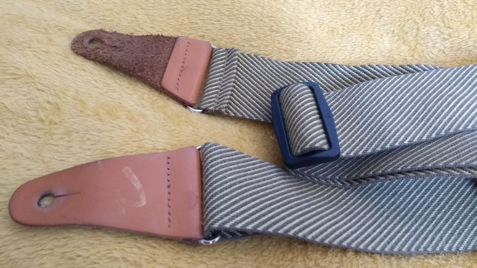 types of guitar strap