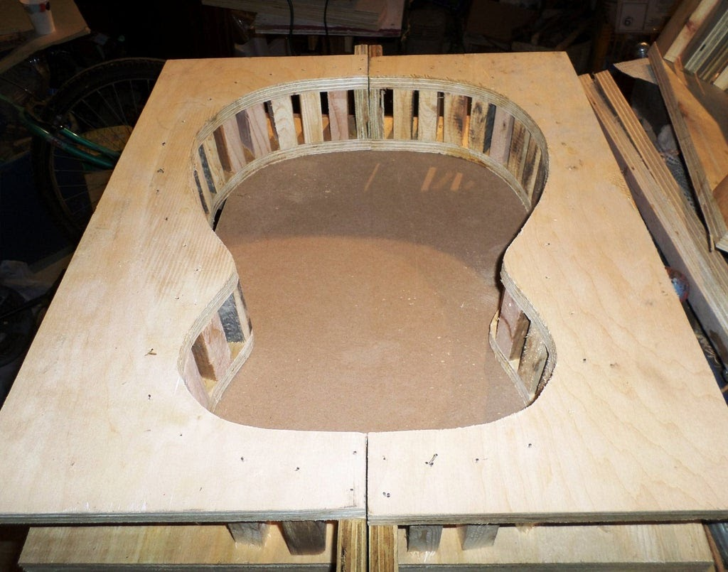 Making the Mold for Guitar