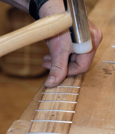 Making fretboard