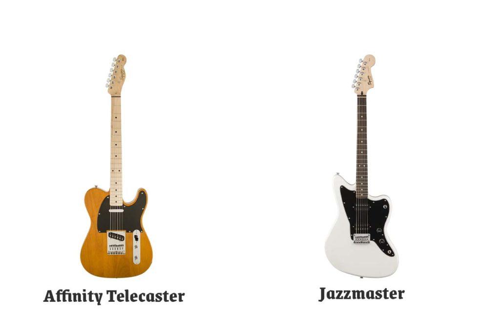 Affinity Telecaster and Jazzmaster