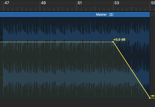 how to fade out in logic pro x