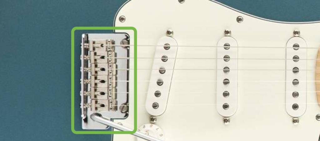 Tail Piece Electric Guitar
