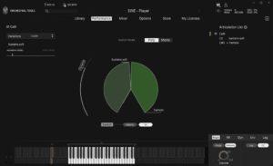 melodic legato mode
