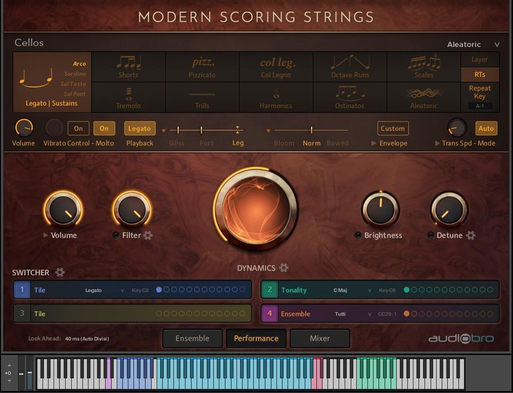 AudioBro Modern Scoring Strings