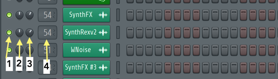 mute button in fl studio