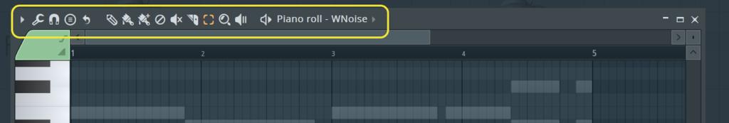 edit buttons in fl studio
