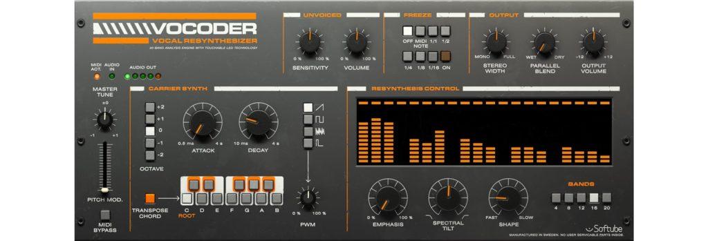UAD Softube Vocoder