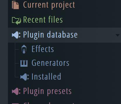 Finding Plugins in FL Studio