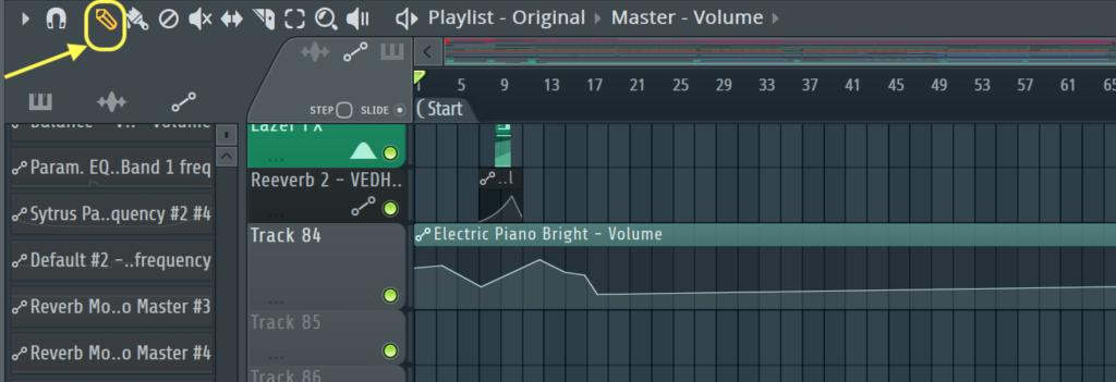 create, move and delete in fl studio
