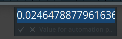 Setting Point Values in fl studio step 2