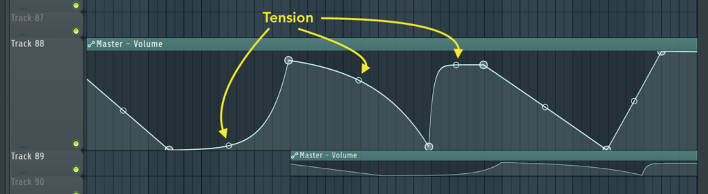 tension and shape modes fl studio