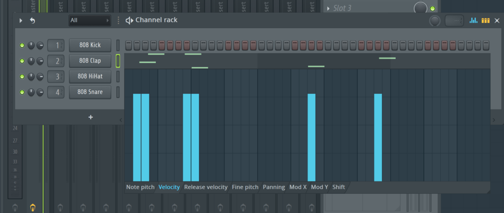 FL Studio Automation Clip Channel Operations