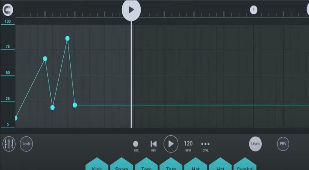 automation tracks in FL Studio Mobile