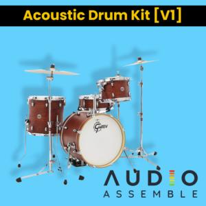 Accoustic Drum Kit Pack 1