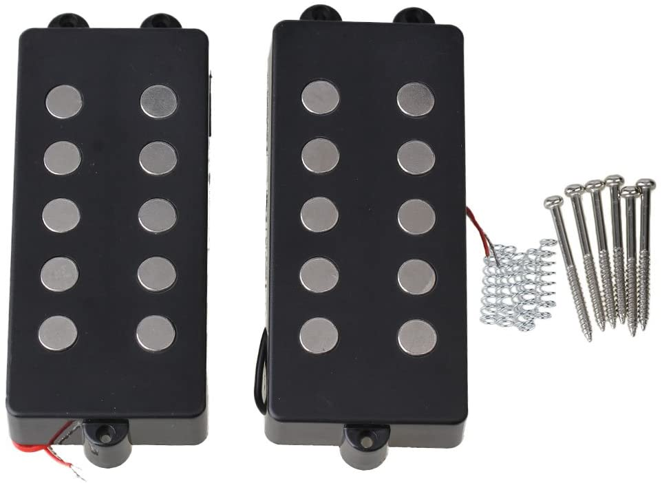 Magnetic and Piezoelectric pickups